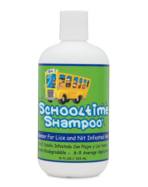 Schooltime Lice control Products - Safe Lice Removal Shampoo