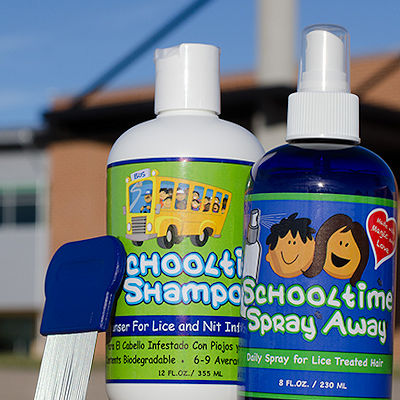Schooltime Products for complete head lice control.